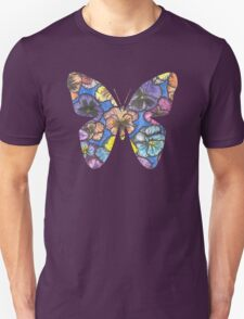 Pansy Butterfly  T-Shirt