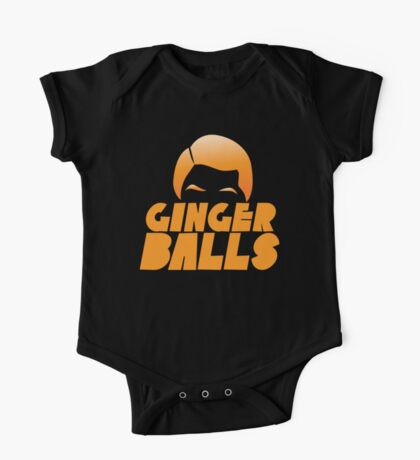 Ginger Balls (Redhead funny) One Piece - Short Sleeve