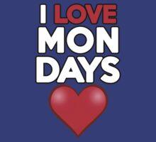 I love Mondays by onebaretree