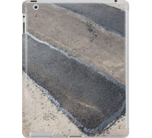 Repair pavement and laying new asphalt iPad Case/Skin