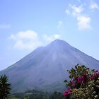 VOLCAN ARENAL # 3 ( A little closer) by Esperanza Gallego
