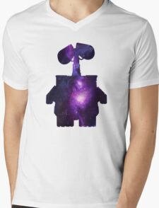 WALL E Mens V-Neck T-Shirt