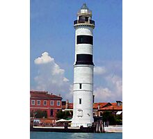 Lighthouse: Venice, Italy Photographic Print
