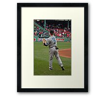 Toronto Blue Jay Rich Hill Framed Print