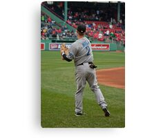 Toronto Blue Jay Rich Hill Canvas Print