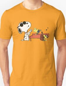 play music group snoopy T-Shirt