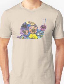 Pansy Snail T-Shirt
