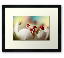 Candy Rainbow Framed Print
