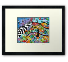 Hope's On The Other Side-Acrylic Framed Print