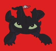 Toothless One Piece - Short Sleeve
