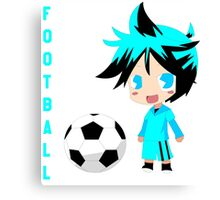 Chibi Manchester City M Canvas Print