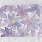 Stylized flowers by acquart