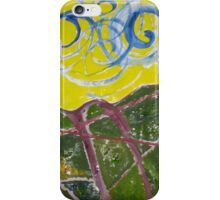 Abstract landscape iPhone Case/Skin
