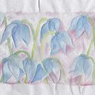Blue flowers by acquart