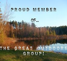EXAMPLE BANNER FOR THE GREAT OUTDOORS GROUP PROUD MEMBER BANNER by linmarie