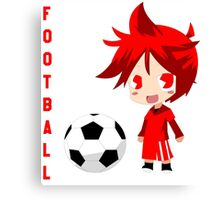 Chibi Liverpool M Canvas Print