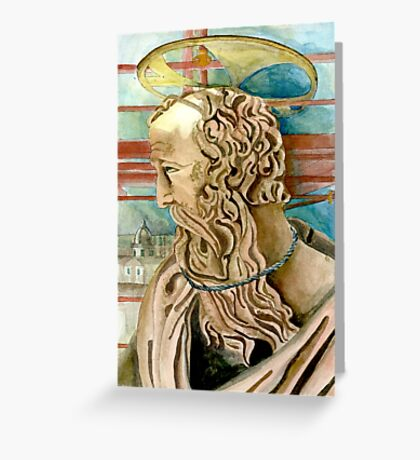 Statue in Rome Greeting Card
