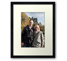 Gary and Pam Framed Print
