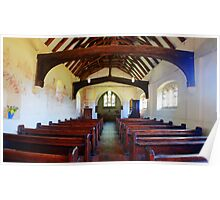 St Thomas Becket Church, Capel Poster