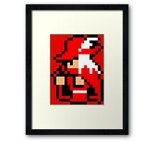 Red Mage Framed Print