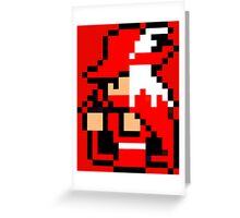 Red Mage Greeting Card