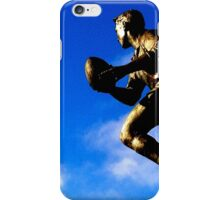 Run with the ball iPhone Case/Skin