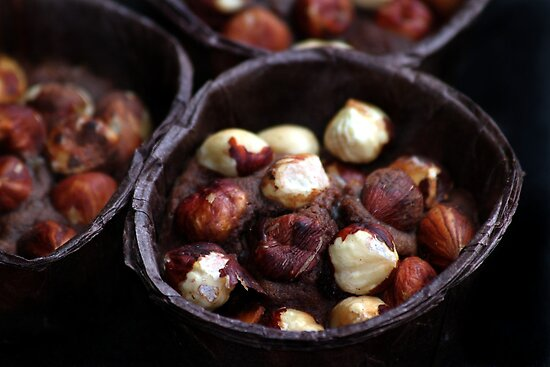 Chocolate Hazelnut Frangipane Tarts by Samantha Higgs