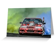 PSYCHO Burnout Greeting Card