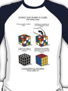 Rubik's Cube:The easy way T-Shirt