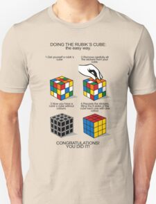 Rubik's Cube:The easy way T-Shirt