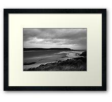 Headlands and beaches Framed Print