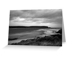 Headlands and beaches Greeting Card