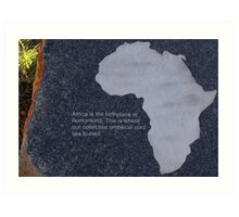 Museum of the Cradle of Humankind - Gauteng South Africa Art Print