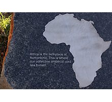 Museum of the Cradle of Humankind - Gauteng South Africa Photographic Print