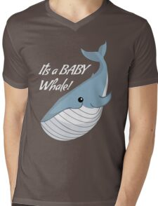 It's a Baby Whale!  Mens V-Neck T-Shirt