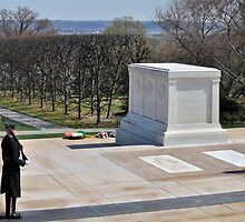 Tomb of the Unknowns at Arlington National Cemetery by thegforcers