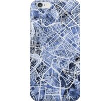 Rome Italy City Street Map iPhone Case/Skin