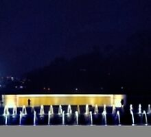 Washington at Night - World War II Memorial by thegforcers