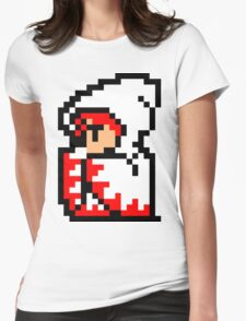 White Mage Womens Fitted T-Shirt