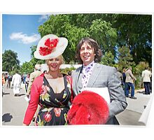 Laurence Llewelyn Bowen with his wife Poster