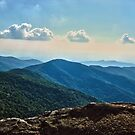 Blue Ridge Mountain - Outlook by Glenn Cecero