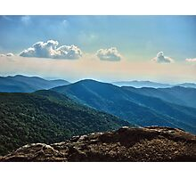Blue Ridge Mountain - Outlook Photographic Print