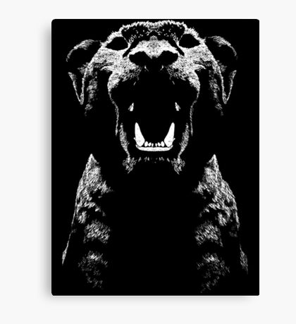 Lion Cub Rawr Canvas Print