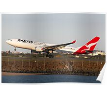 Qantas VH-EBB Poster