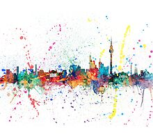 Berlin Germany Skyline Photographic Print