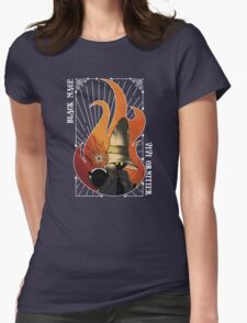 The Black Mage Womens Fitted T-Shirt