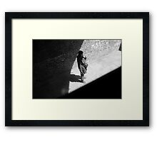 LONDON: VIEWS FROM THE TOP DECK PT 3 'GOING UNDER THE KNIFE' Framed Print