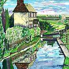 Lock & Keeper's Cottage - Somerton Lock by mleboeuf