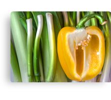 Yellow Pepper Canvas Print