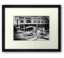 Streets of New York III Framed Print